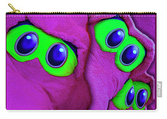 Carry-all Pouch featuring the photograph The Eyes Have It by Paul Wear