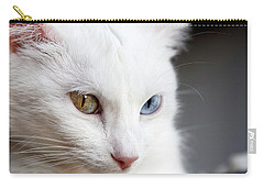 Carry-all Pouch featuring the photograph The Eyes by Jorge Maia