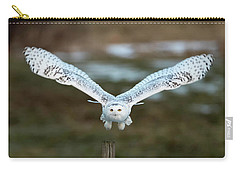 The Eyes Of Intent Carry-all Pouch by Everet Regal