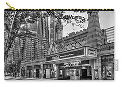 The Fabulous Fox Theatre Bw Atlanta Georgia Art Carry-all Pouch