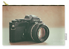Carry-all Pouch featuring the photograph The Fabulous Nikon by Ana V Ramirez