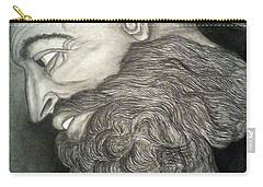The Face Of God Carry-all Pouch