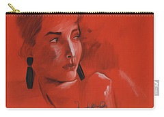 The Face Series - Kelly Carry-all Pouch