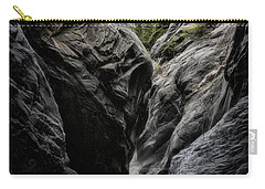 Carry-all Pouch featuring the photograph The Faces Of Jura Creek Canyon by Brad Allen Fine Art