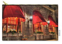 Carry-all Pouch featuring the photograph The Fairmont Copley Plaza Hotel - Boston by Joann Vitali