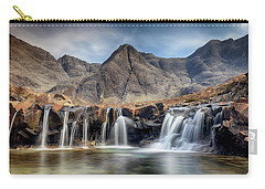 Carry-all Pouch featuring the photograph The Fairy Pools - Isle Of Skye 3 by Grant Glendinning