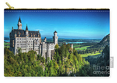 The Fairy Tale Castle Carry-all Pouch by Pravine Chester