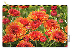 Carry-all Pouch featuring the photograph The Fall Bloom by Bill Pevlor