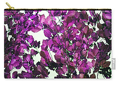Carry-all Pouch featuring the photograph The Fall - Intense Fuchsia by Rebecca Harman