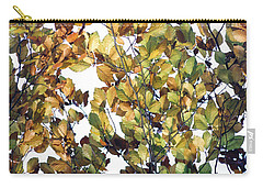 Carry-all Pouch featuring the photograph The Fall by Rebecca Harman