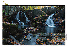 The Falls Of Black Creek In Autumn IIi Carry-all Pouch