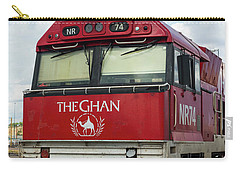 The Famed Ghan Train  Carry-all Pouch