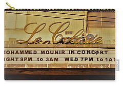 The Famous Le Colisee Cinema In Beirut Carry-all Pouch