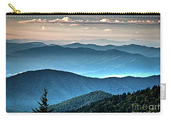 The Far Blue Smoky Mtns. Carry-all Pouch