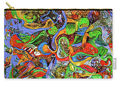The Fiddle Player Carry-all Pouch by Lee Ransaw