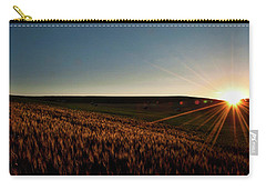 Carry-all Pouch featuring the photograph The Field Of Gold by Mark Dodd