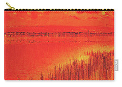 Carry-all Pouch featuring the digital art The Final Paragraph by Wendy J St Christopher
