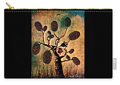 The Fingerprints Of Time Carry-all Pouch by Vennie Kocsis