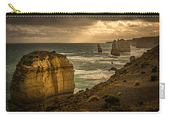 Carry-all Pouch featuring the photograph The Fire Sky by Andrew Matwijec