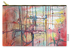 The Fire Within Carry-all Pouch by Rebecca Davis