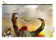 The First Americans - The Great Spirit Carry-all Pouch
