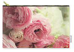 Carry-all Pouch featuring the photograph The First Bouquet by Sylvia Cook