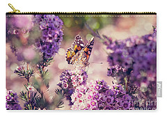 Carry-all Pouch featuring the photograph The First Day Of Summer by Linda Lees