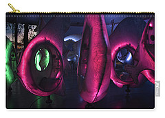Carry-all Pouch featuring the photograph The Fish Spin - Seaglass Carousel by Mark Dodd