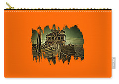 Carry-all Pouch featuring the photograph Mary D. Hume Shipwreak by Thom Zehrfeld