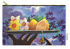 The Five Senses Carry-all Pouch by Randy Burns