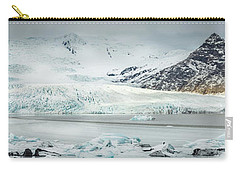 The Fjallajokull Glacier And Ice Lagoon. Carry-all Pouch