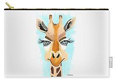 The Flirt - Giraffe Carry-all Pouch