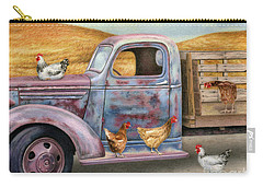 Where The Hens Gather  Carry-all Pouch