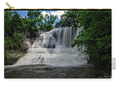 The Flowing Falls Carry-all Pouch by Shelly Gunderson