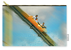 Carry-all Pouch featuring the photograph The Flume by Diana Angstadt