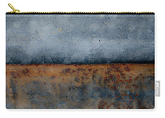 Carry-all Pouch featuring the photograph The Fog Rolls In by Jani Freimann