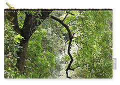 Carry-all Pouch featuring the photograph The Forest Beckons by Michele Myers
