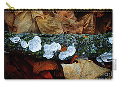 Carry-all Pouch featuring the photograph The Forest Floor - Cascade Wi by Mary Machare