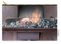 Carry-all Pouch featuring the photograph The Forge by Linda Lees