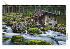The Forgotten Mill Carry-all Pouch by JR Photography