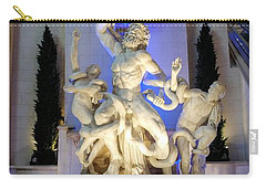 The Forum Shop Statues At Ceasars Palace Carry-all Pouch