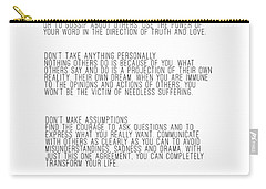 The Four Agreements 5 Carry-all Pouch