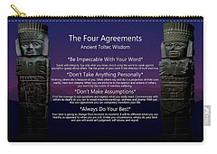The Four Agreements Poster Carry-all Pouch
