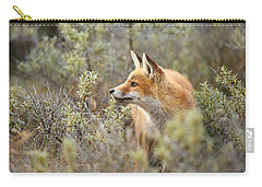 The Fox And Its Prey Carry-all Pouch