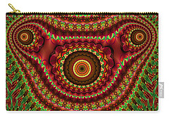 The Fractal Beast Carry-all Pouch by Thibault Toussaint