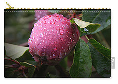 Carry-all Pouch featuring the photograph The Freshest Apple by Katie Wing Vigil