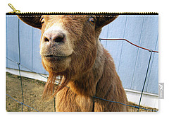 The Friendly Goat  Carry-all Pouch
