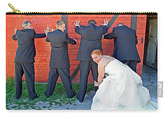 The Frisky Bride Carry-all Pouch by Keith Armstrong