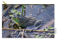 The Frog Remains Carry-all Pouch