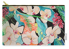 The Gallery Of Orchids 1 Carry-all Pouch